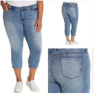 NEW Kut From Kloth Abigail Crop Straight Leg Jeans